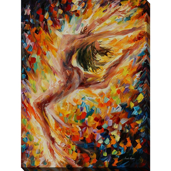 Leonid Afremov 'The Dance Of Love' Giclee Print Canvas Wall Art