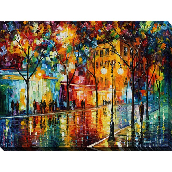 Leonid Afremov 'The Tears Of The Fall' Giclee Print Canvas Wall Art