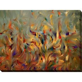 Mark Lawrence 'Faith, Not Emotion' Giclee Print Canvas Wall Art