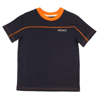Boy's Mivaci Blue Short Sleeve T-Shirt