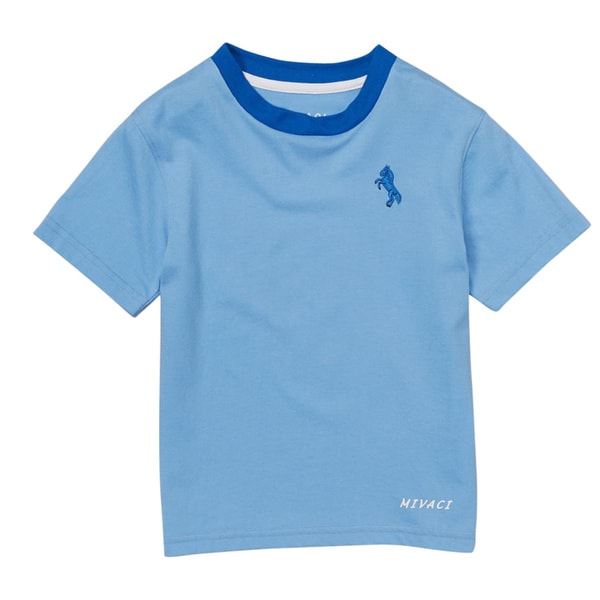 Boy's Mivaci Light Blue Short Sleeve T-Shirt
