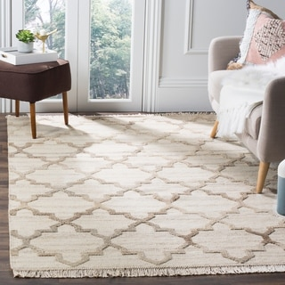 Safavieh Hand-knotted Kenya Natural Wool Rug (9' x 12')