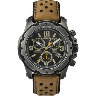 Timex Men's TW4B015009J Expedition Sierra Tan Leather Strap Watch