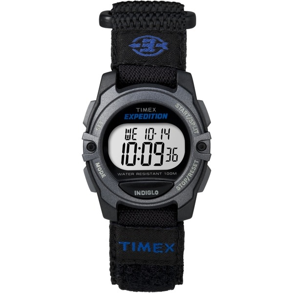 Timex Unisex TW4B024009J Expedition CAT Black Fast Wrap Velcro Strap Watch 15636140