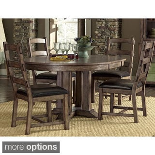 Boulder Creek Brown Finish Dining Table