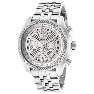 Breitling Men's A4139021-G795 'Bentley Barnato 42' Automatic Chronograph Silver Stainless steel Watch