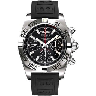 Breitling Men's AB011610-BB08 'Chronomat 44' Automatic Chronograph Silver Stainless steel Watch