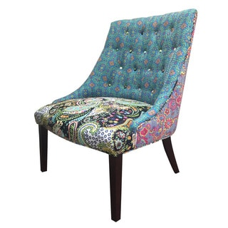 Jennifer Taylor Home Accent Chair, Blue