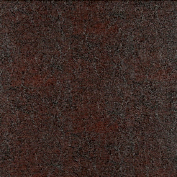G364 Burgundy Shiny Smooth Faux Leather Upholstery (By The Yard)