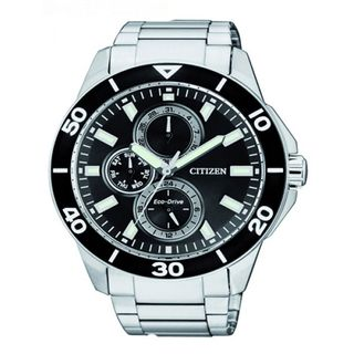 Citizen Men's AP4030-57E 'Eco-Drive' Silver Stainless steel Watch