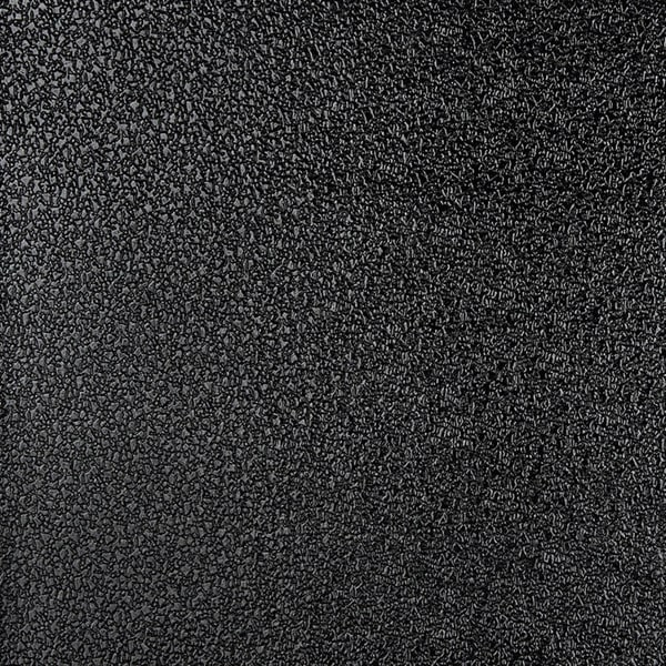 G367 Black Shiny Speckled Faux Leather Upholstery (By The Yard)