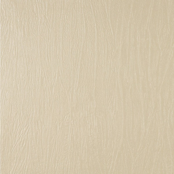 G378 Cream Metallic Textured Faux Leather Upholstery (By The Yard)
