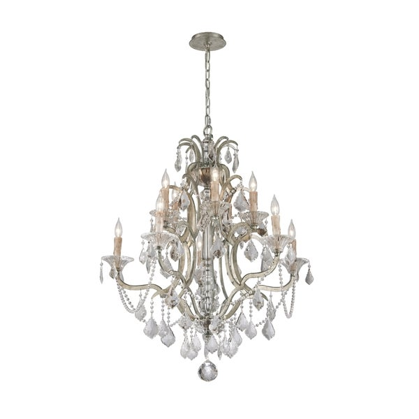 Troy Lighting Montparnasse 10-light Chandelier