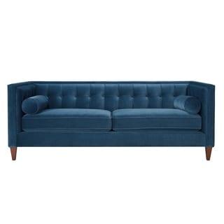 Jennifer Taylor Teal Tufted Sofa