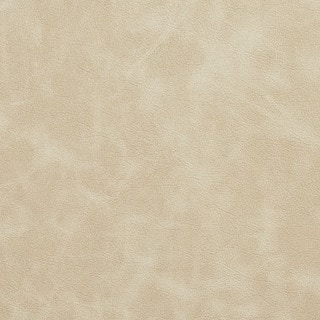 Ivory Matte Distressed Breathable Leather Look and Feel Upholstery (By The Yard)