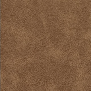 Camel Matte Distressed Breathable Leather Look and Feel Upholstery (By The Yard)