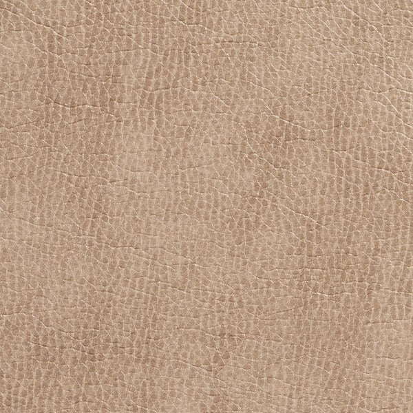 G432 Tan Breathable Leather Look and Feel Upholstery (By The Yard)