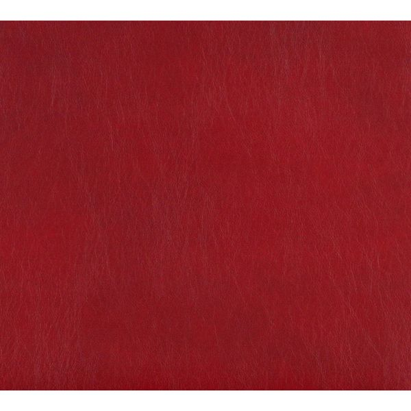 G472 Red Upholstery Grade Recycled Bonded Leather (By The Yard)