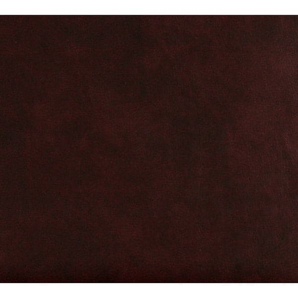 G481 Burgundy Small Leather Grain Upholstery Bonded Recycled Leather (By The Yard)