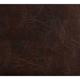 G491 Brown Distressed Leather Look Upholstery Bonded Leather (By The Yard)