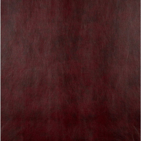 G533 Burgundy Red Upholstery Recycled Bonded Leather (By The Yard)