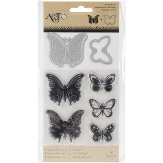 Momenta Stamp & Die Set Butterflies