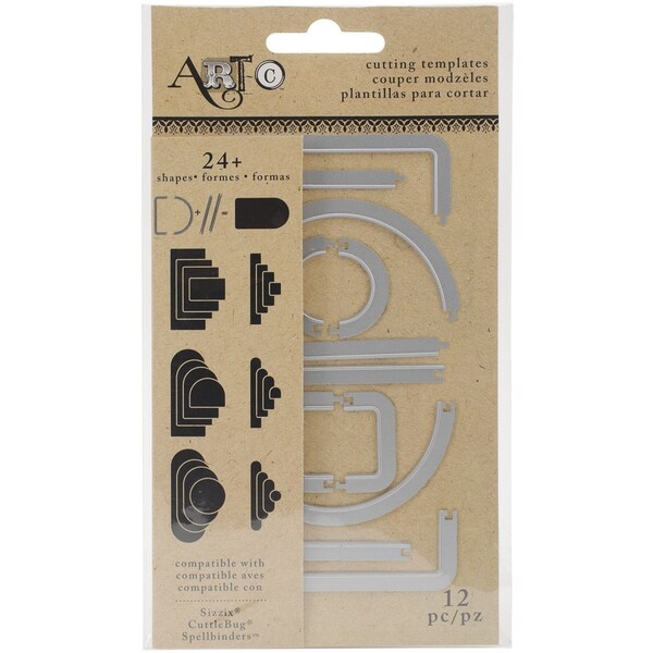 Art C Create Your Own Dies 12/Pkg Circle