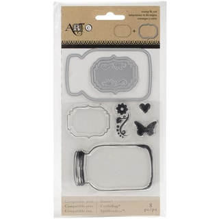 Momenta Stamp & Die Set Mason Jars