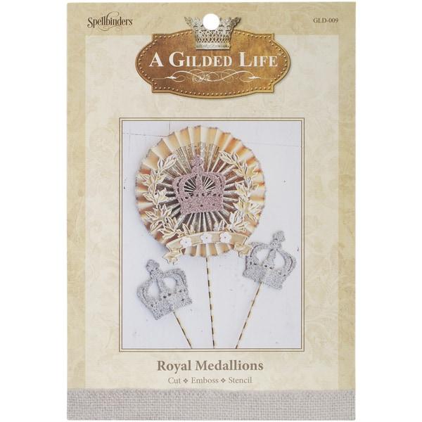 Spellbinders A Gilded Life Die Royal Medallions