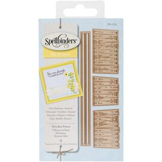 Spellbinders Shapeabilities Die D Lites Wooden Fence
