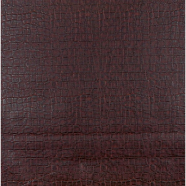 G259 Light Brown Crocodile Faux Leather Upholstery (By The Yard)