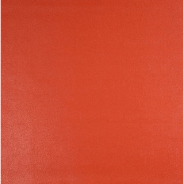 G266 Salmon Orange Leather Look Upholstery Polyurethane Faux Leather Upholstery (By The Yard)