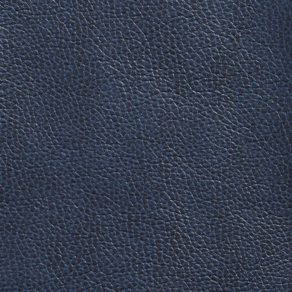 G433 Navy Blue Breathable Leather Look and Feel Upholstery (By The Yard)