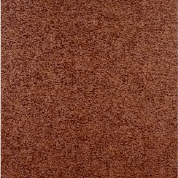 G552 Saddle Brown Upholstery Grade Recycled Bonded Leather (By The Yard)