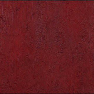 G580 Dark Red Upholstery Grade Recycled Bonded Leather (By The Yard)