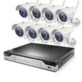 Zmodo 8CH 960H DVR 8x600TVL Home Day/ Night Surveillance Security Camera System without Hard Drive