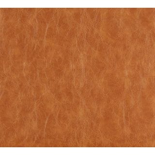 G625 Caramel Brown Distress Leather Look Upholstery Bonded Leather (By The Yard)