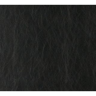 G627 Black Distressed Leather Upholstery Recycled Bonded Leather (By The Yard)