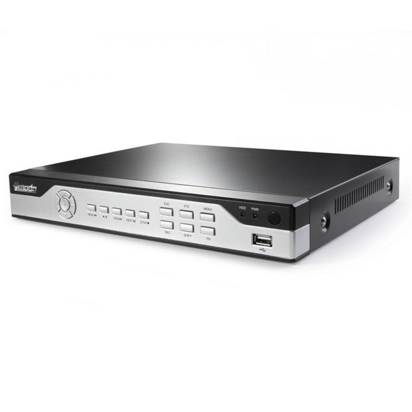 Zmodo 4 Channel H.264 Security DVR with 960H Real-Time Recording and 500GB HDD