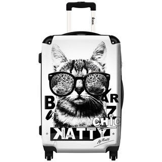 iKase Katty 20-inch Hardside Carry On Spinner Upright Suitcase