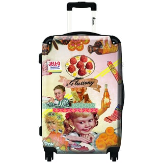 iKase Glutton by ELO 20-inch Carry On Hardside Spinner Suitcase