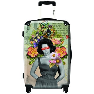 iKase Liz by ELO 20-inch Carry On Hardside Spinner Suitcase
