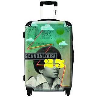 iKase MJ by ELO 20-inch Carry On Hardside Spinner Suitcase