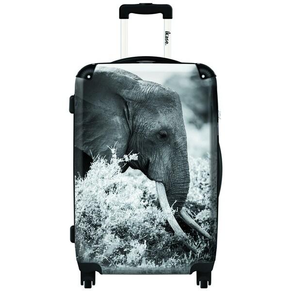 iKase Elephant Mono 20-inch Carry On Hardside Spinner Suitcase