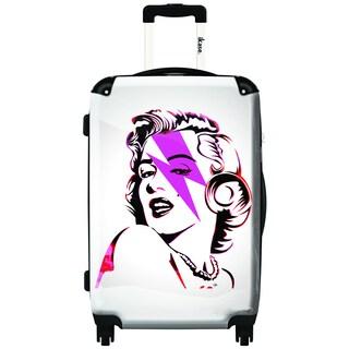 iKase Marilyn Forever 20-inch Carry On Hardside Spinner Suitcase