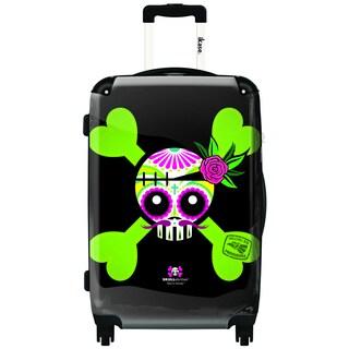 iKase Hecho El Providence 24-inch Hardside Spinner Upright Suitcase