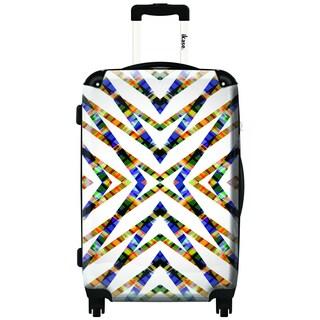 IKASE Kaleido Stars 24-inch Hardside Spinner Upright Suitcase