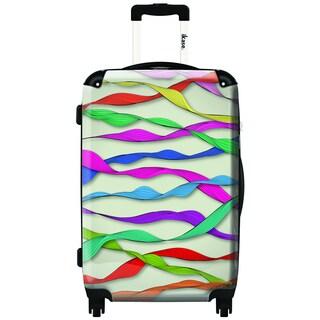 IKASE Streamers 24-inch Hardside Spinner Upright Suitcase