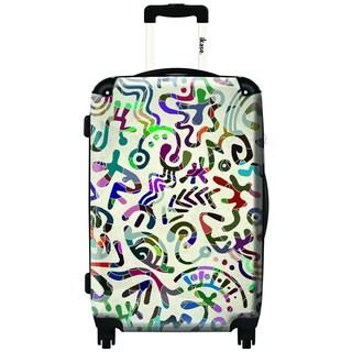 IKASE Elegant Tagging 24-inch Hardside Spinner Upright Suitcase