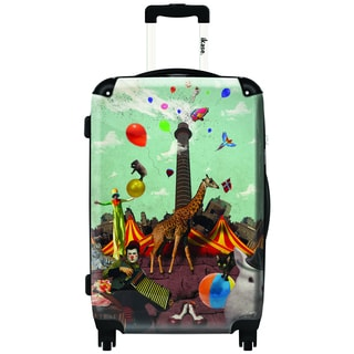 iKase Circus 24-inch Hardside Spinner Upright Suitcase